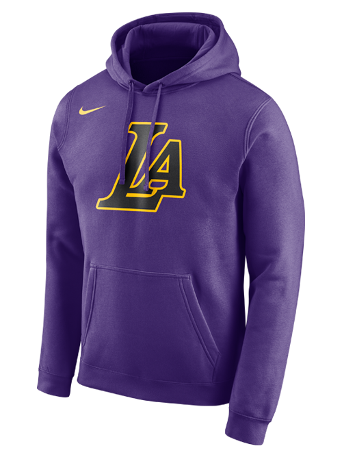 Los Angeles Lakers City Edition Essential Logo Hoodie