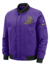 Los Angeles Lakers Dry Hoodie Showtime Half-Zip - Grey