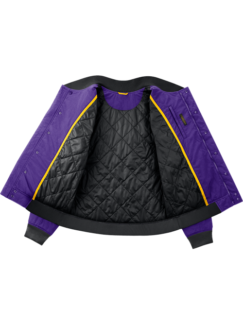 Los Angeles Lakers City Edition Courtsize Full Zip Jacket