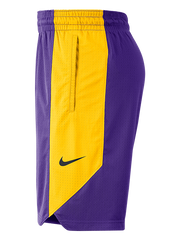Los Angeles Lakers Practice Shorts - Purple/Gold
