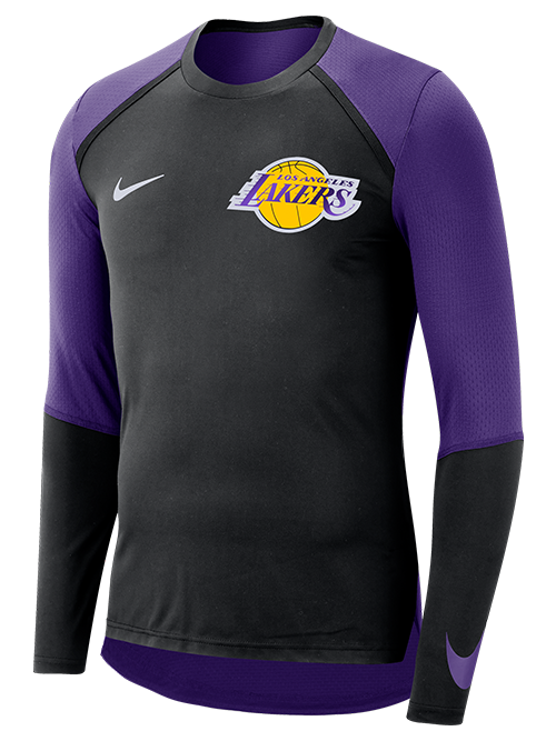 Los Angeles Lakers Dry Top Long Sleeve Shooter