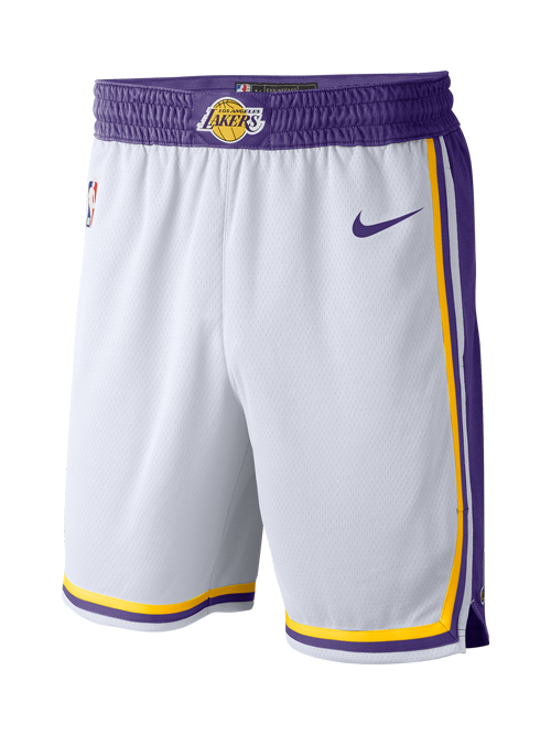 Los Angeles Lakers Association Swingman Shorts