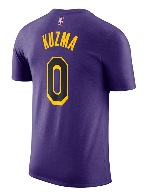 Los Angeles Lakers City Edition Kyle Kuzma Player T-Shirt