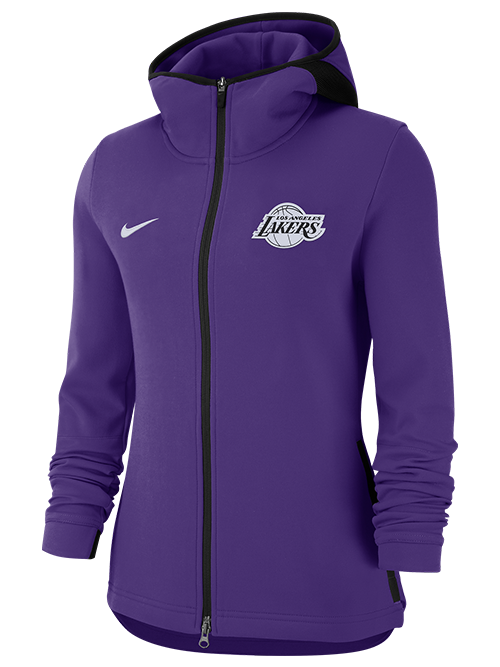 0705699652d Los Angeles Lakers Women s Dry Showtime Full Zip Jacket - Purple – Lakers  Store