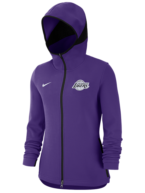 Los Angeles Lakers Women's Dry Showtime Full Zip Jacket - Purple