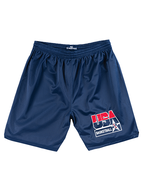 USA Basketball 1992 Dream Team Authentic Practice Shorts - Navy