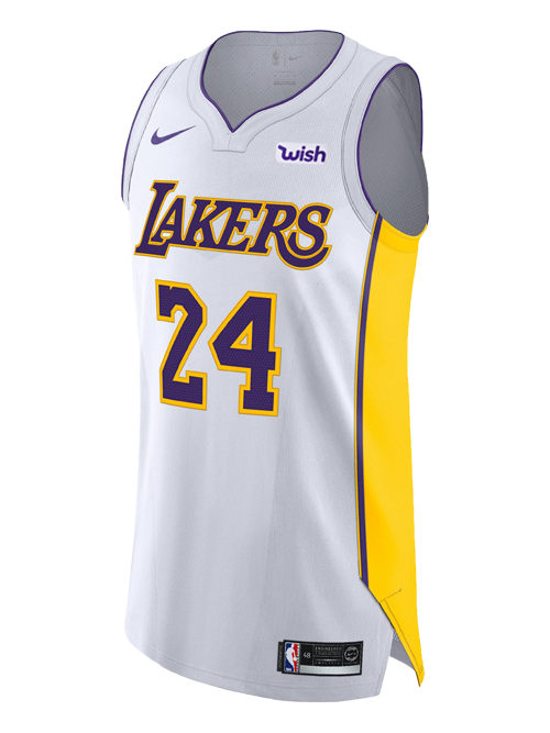 deb8f217ce2c Kobe Bryant Association Authentic Jersey – Lakers Store