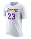 Los Angeles Lakers Youth City Edition LeBron James Player Tee