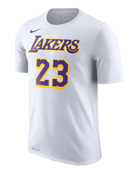 c0647be6 Los Angeles Lakers LeBron James Association Edition Player T-Shirt