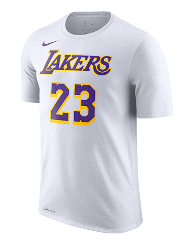 Los Angeles Lakers Camp T-Shirt - Purple