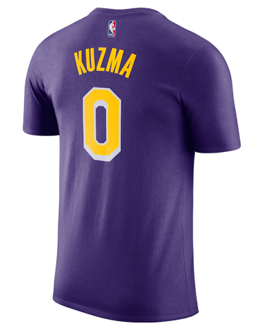 Los Angeles Lakers Kyle Kuzma Association Edition Player T-Shirt