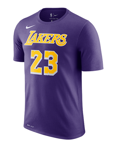 Los Angeles Lakers Kyle Kuzma Vertical Player Name   Number T-Shirt ... 626143005