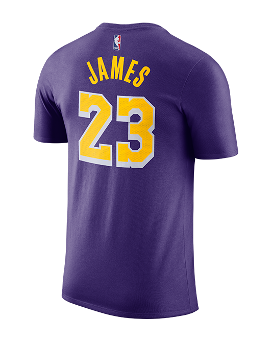 Los Angeles Lakers LeBron James Statement Edition Player T-Shirt – Lakers  Store 1b45124d6