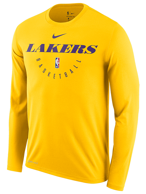 Los Angeles Lakers Practice T-Shirt - Gold
