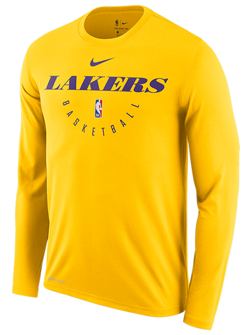 0e1a805f Los Angeles Lakers LeBron James Dark Icon Name & Number T-Shirt ...