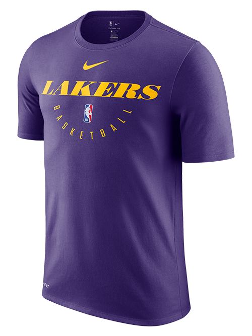 Los Angeles Lakers Practice T-Shirt - Purple