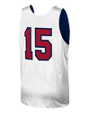Magic Johnson USA Basketball 1992 Dream Team Authentic Reversible Practice Jersey - Navy/White