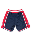 USA Basketball 1992 Dream Team Authentic Game Shorts - Navy/Red