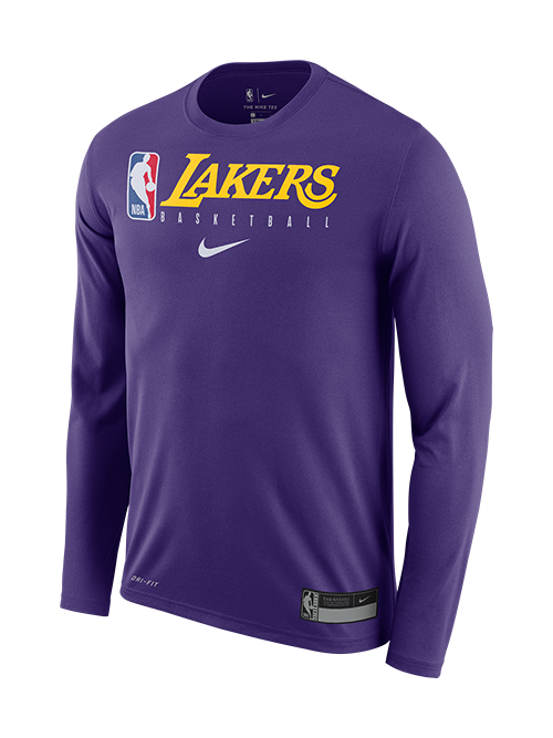 Los Angeles Lakers Practice Long Sleeve T-Shirt