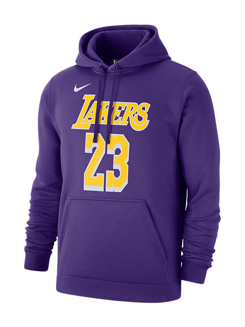 Los Angeles Lakers James Club Fleece Hoodie