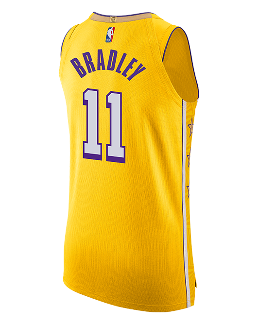 Los Angeles Lakers Avery Bradley City Edition Authentic Jersey - Gold
