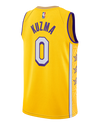 Los Angeles Lakers Dwight Howard City Edition Swingman Jersey - Gold