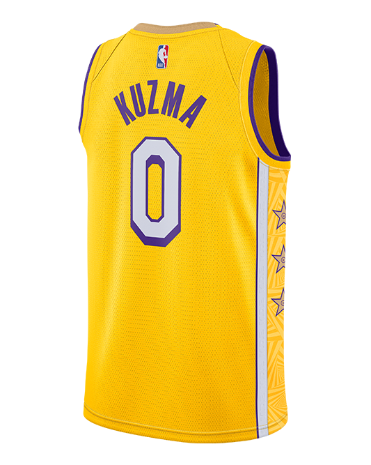 Los Angeles Lakers Youth City Edition Kyle Kuzma Jersey