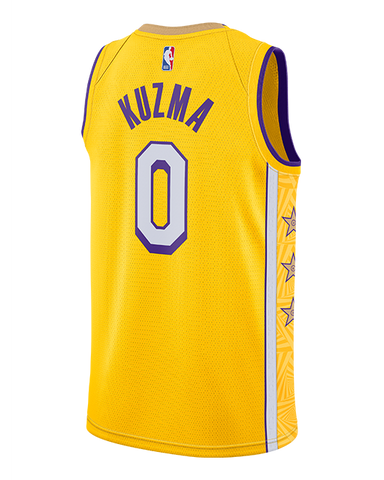 Los Angeles Lakers Rajon Rondo City Edition Swingman Jersey - Gold