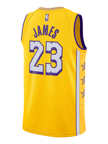 Los Angeles Lakers Kids LeBron James Crown T-Shirt - Black