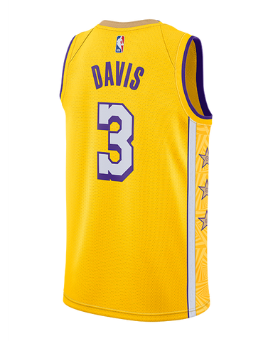 Los Angeles Lakers Rajon Rondo City Edition Authentic Jersey - Gold