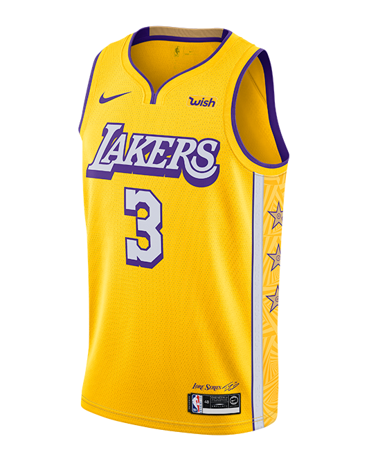 Los Angeles Lakers Anthony Davis City Edition Swingman Jersey