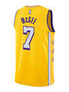 Los Angeles Lakers JaVale McGee City Edition Swingman Jersey - Gold
