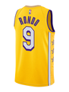 Los Angeles Lakers Youth City Edition Anthony Davis Player Tee - Gold