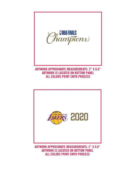 2020 NBA Champions  Replica B1 Los Angeles Lakers  Ball
