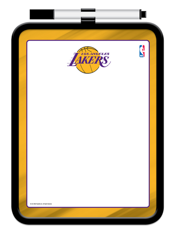 Los Angeles Lakers Dry Erase Board