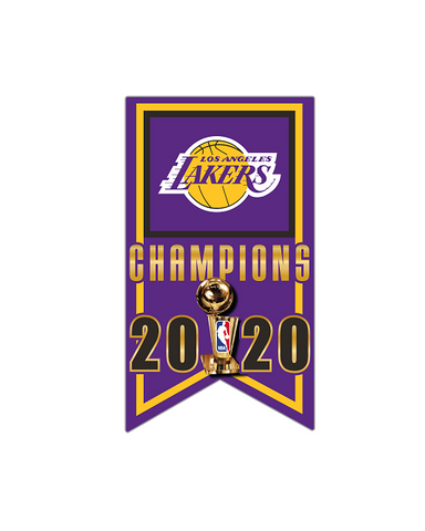 Los Angeles Lakers 2020 NBA Champions Team Color 20oz Stainless Tumbler