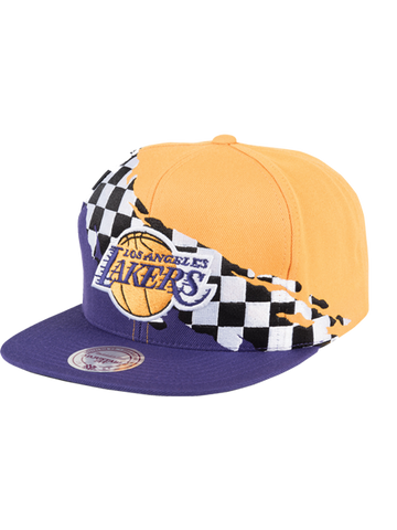 Los Angeles Lakers 9FIFTY Fully Flagged Snapback Cap
