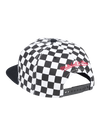 Los Angeles Lakers Checkered Logo Snapback Cap