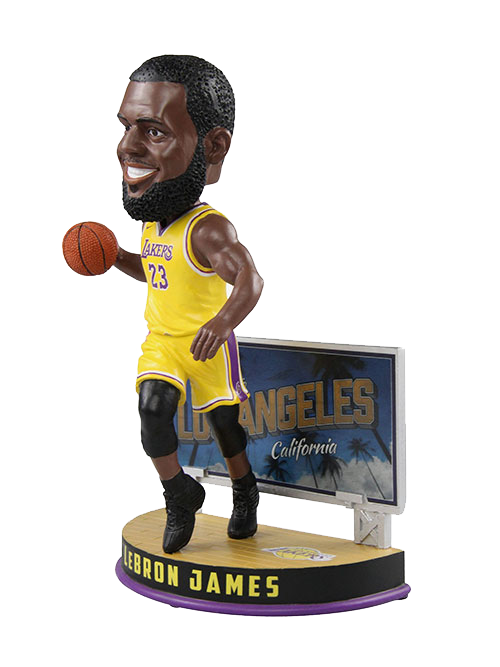Los Angeles Lakers LeBron James Billboard Bobblehead