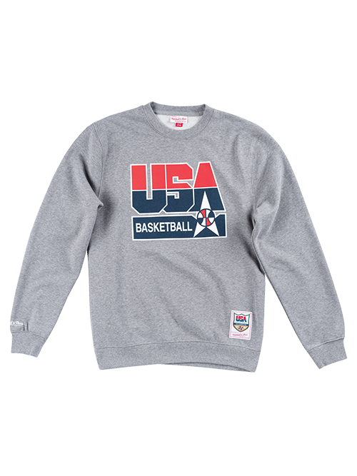 USA Basketball 1992 Dream Team Crew Sweatshirt - Grey