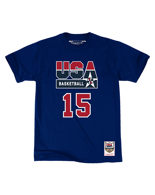Magic Johnson USA Basketball 1992 Dream Team Player Tee