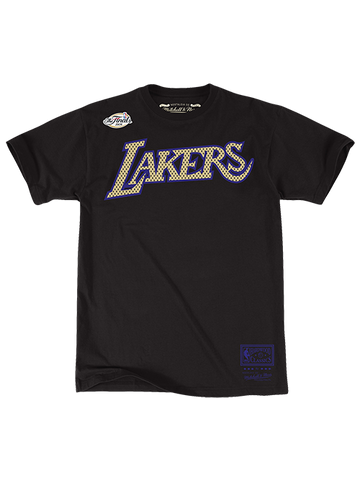 Los Angeles Lakers Platinum Magic Johnson Swingman Jersey