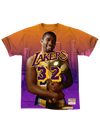 Los Angeles Lakers LeBron James Side Sweep Player T-Shirt