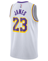 Los Angeles Lakers LeBron James 12x30 Pennant