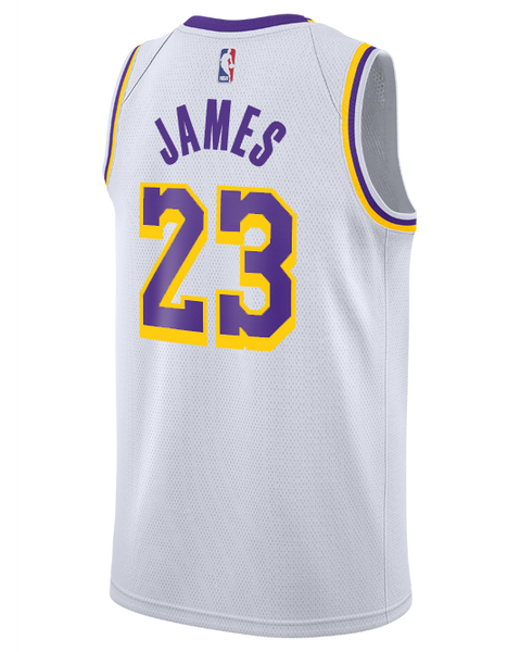 Los Angeles Lakers LeBron James 2018-19 Association Edition Swingman J –  Lakers Store a4690f590