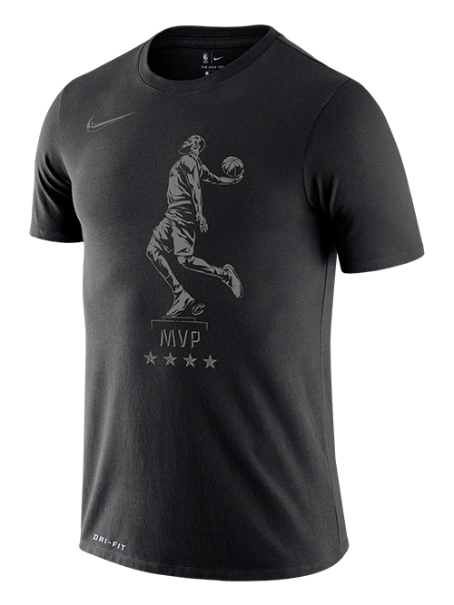 Los Angeles Lakers LeBron James MVP Statue T-Shirt