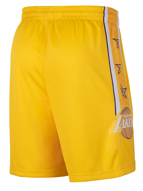 PRE-ORDER Los Angeles Lakers City Edition Swingman Shorts - Gold