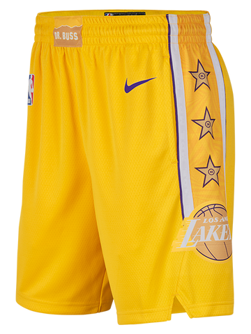 Los Angeles Lakers LeBron James City Edition Player Tee - Gold