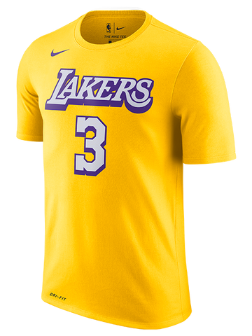 Los Angeles Lakers Kyle Kuzma Distressed Name T-Shirt