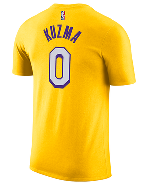 Los Angeles Lakers Kyle Kuzma City Edition Player Tee - Gold